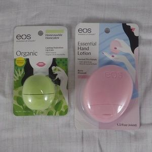 eos Other - EOS Lip Care and Hand Lotion Set - New